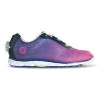 FootJoy Ladies emPOWER Boa Spikeless Waterproof Golf Shoes Navy/Plum