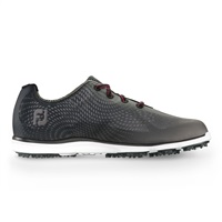 FootJoy Ladies emPOWER Spikeless Waterproof Golf Shoes Black/Charcoal