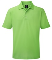 FootJoy Stretch Pique Solid Polo Shirt Lime