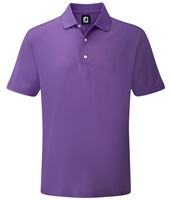 FootJoy Stretch Pique Solid Polo Shirt Purple