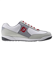 FootJoy AWD XL Casual Golf Shoes White/Grey/Red