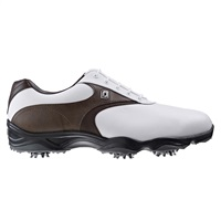 FootJoy AWD XL Waterproof Golf Shoes White/Brown