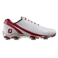 FootJoy DNA Golf Shoes 2016 White/Red