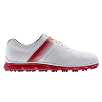 FootJoy DryJoys Casual Golf Shoes White/Red