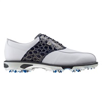 FootJoy DryJoys Tour Golf Shoes White/Navy Gator