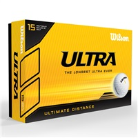 Wilson Ultra LUE Ultimate Distance 15 Golf Balls