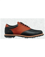 Ashworth Leucadia Tour Shoes Black/Cognac Brown 2016