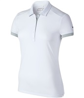 Nike Golf Womens Victory Colourblock Polo Shirt White 2016