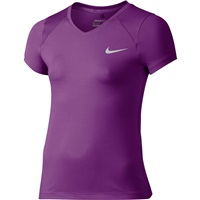 Nike Golf Girls Greens Golf Top Cosmic Purple/Metallic Silver 2016