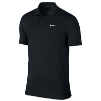 Nike Golf Victory Solid LC Polo Black/White 2016