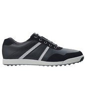 FootJoy Contour Casual Golf Shoes Black/Silver