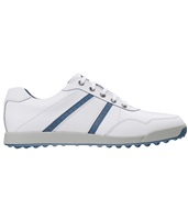 FootJoy Contour Casual Golf Shoes White/Blue