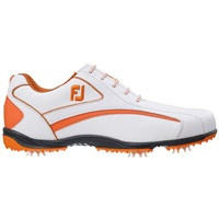 FootJoy Hydrolite Golf Shoes White/Orange