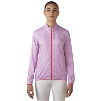 Adidas Ladies Essentials Full Zip Wind Jacket Wild Orchid/Shock Red 2016
