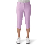 Adidas Ladies Essentials Lightweight Golf Capri Wild Orchid 2016