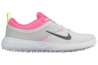 Nike Golf Ladies Akamai Golf Shoes Grey/Pink 2016