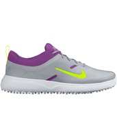 Nike Golf Ladies Akamai Golf Shoes Grey/Purple 2016