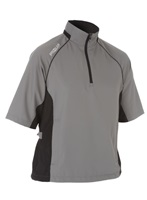 Proquip Ultralite Wind Half Sleeve Top Mid Grey/Black