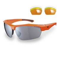 Sunwise Shipley Orange Frame Sunglasses