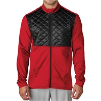 Adidas Climaheat Prime Fill Golf Jacket Ray Red/Black 2016