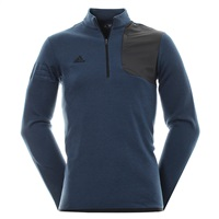 Adidas Club Performance Half Zip Sweater Mineral Blue Heather 2016