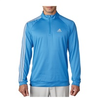 Adidas 3 Stripe Quarter Zip LC Top Ray Blue 2016