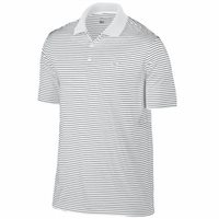 Nike Golf Victory Stripe Polo White Black