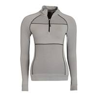 Calvin Klein Golf Ladies 1/2 Zip Base Layer Platinum 2016