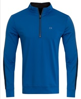 Calvin Klein Golf 1/2 Zip Tribeca Top Blue 2016
