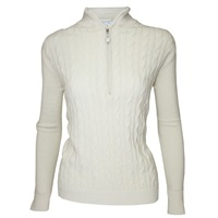 Green Lamb Ladies Bella Superwool Sweater Cream 2016