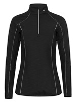 Rohnisch Ladies Riana Half Zip Jacket Black 2016