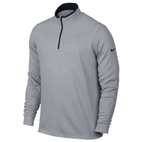 Nike Golf Dri-FIT Half-Zip Long Sleeves Top Wolf Grey/Black 2016