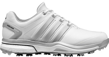 Adidas Adipower Boost 2 Golf Shoes White Silver - Click to view a larger  image 41fad4ced