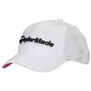 TaylorMade Ladies Radar Hat White/Pink 2017