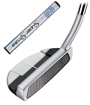 Odyssey Works Versa 9 Putter with SuperStroke Grip RH  - Click to view a larger image