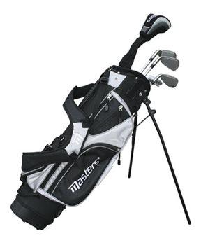 Masters Junior 520 Half Set 9-12 Black/Silver  RH
