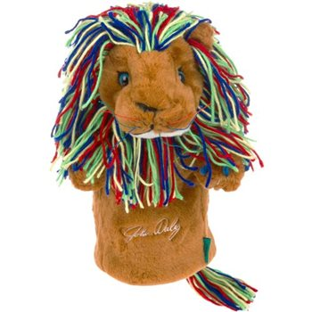 Winning Edge John Daly Lion Golf Head Cover  - Click to view a larger image