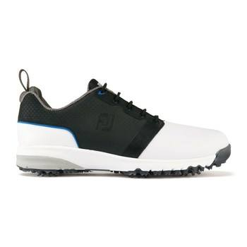 FootJoy ContourFit Golf Shoes White/Black/Grey  - Click to view a larger image