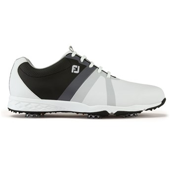 cheap for discount 725ac 933e6 FootJoy Energize Golf Shoes Wide Fit WhiteBlackCharcoal