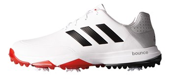 Adidas Adipower Bounce Golf Shoes White/Core Black/Scarlet 2017