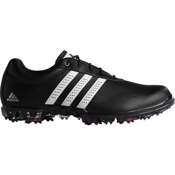 Adidas AdiPure Flex Shoes Wide Fit Core Black/Footwear White/Power Red