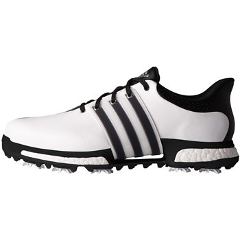 Adidas Tour 360 Boost Wide Fit Shoes Footwear White/Core Black/Core Black  - Click to view a larger image