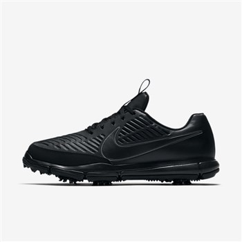 ef27b5c59f32 Nike Golf Explorer 2 S Shoes Black Metallic Dark Grey