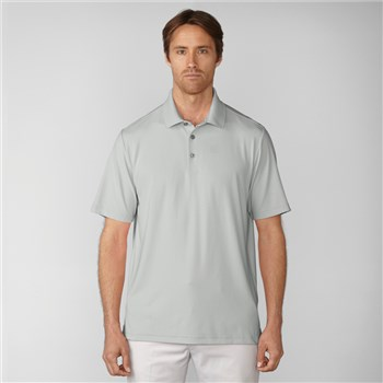 Ashworth Matte Interlock Solid Polo Pebble 2017  - Click to view a larger image