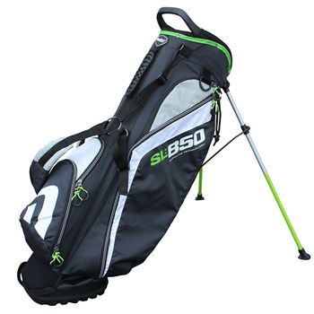Masters Supalite Stand Bag Black/Green 2017  - Click to view a larger image
