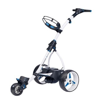Motocaddy S5 Connect Electric Trolley White  - Click to view a larger image
