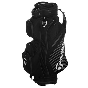 TaylorMade 1.0 Cart Bag Black 2017  - Click to view a larger image