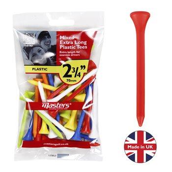 Masters Plastic Tees 2 3/4 Mixed bag 30