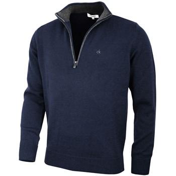 Calvin Klein Golf Chunky Cotton Sweater Navy 2018