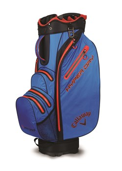 Callaway Hyper Dry Cart Bag 2018 Royal/Black/Red  - Click to view a larger image